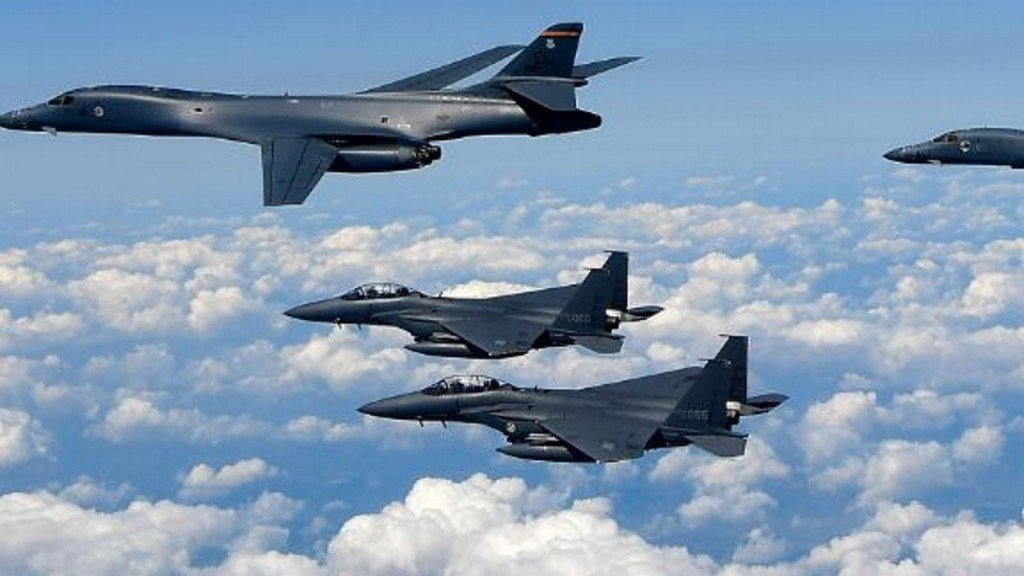 South Korean and Russian warplanes face-off in rare mid-air confrontation