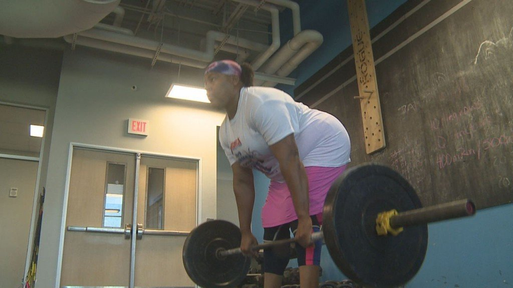 Female powerlifter nearly disqualified from competition over beliefs
