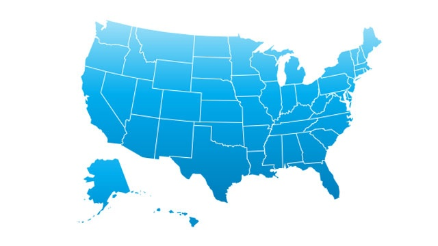 Most commonly misspelled word in each state