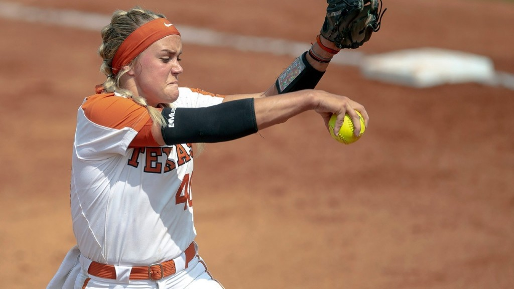 College softball player hit in face by own teammate's throw