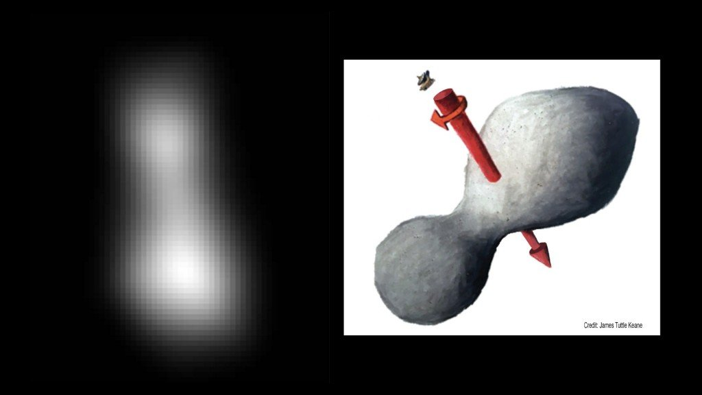NASA provides first image from record-setting flyby of Ultima Thule