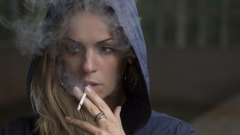 Cigarette smoking falls to record low in US