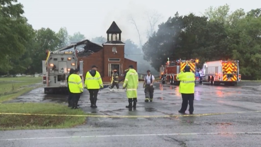 Louisiana churches relieved after arrest of suspect in fires