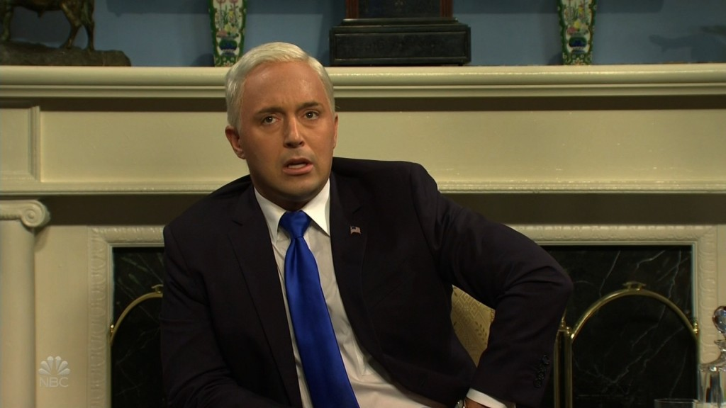 'SNL' has Vice President Mike Pence freaking out over impeachment