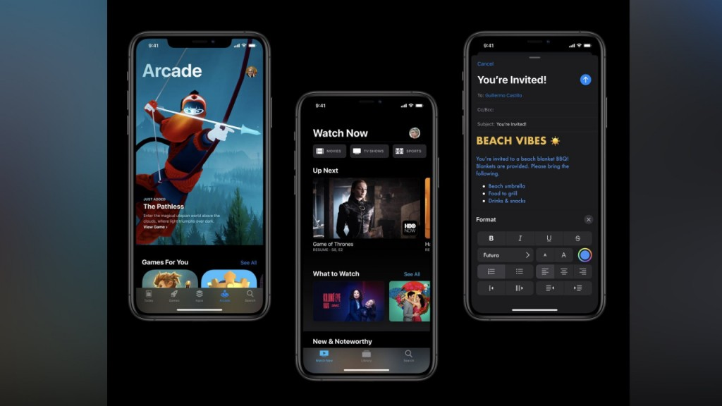 iOS 13 is available to download now. Here's what's new