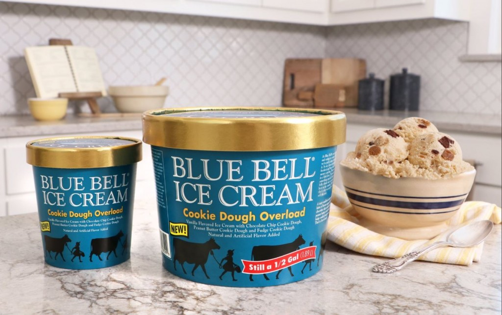 Blue Bell Cookie Dough Overload