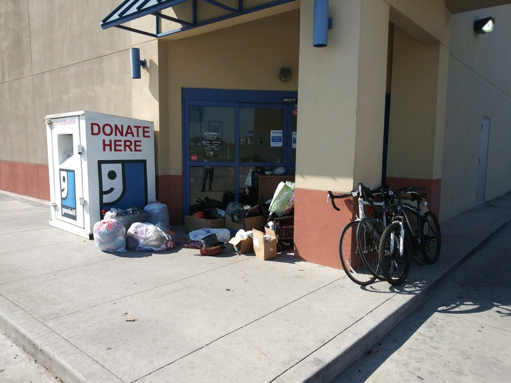 Goodwill Donation Station Victoria Larkspur