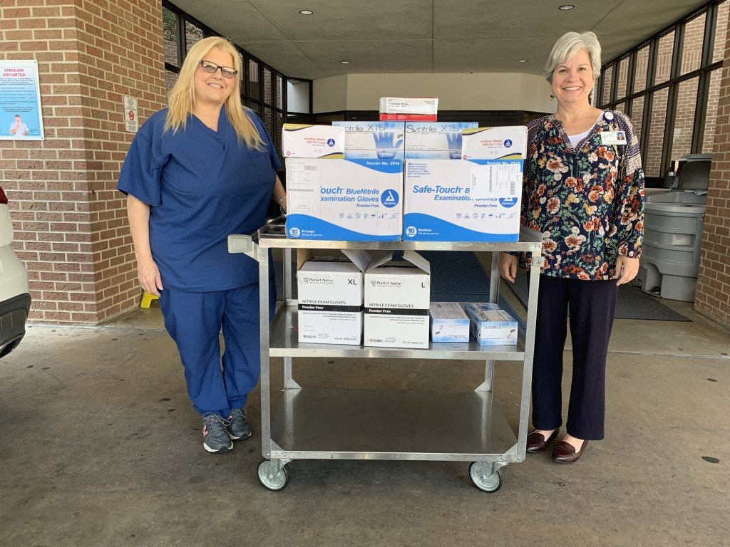 VC's allied health programs donate needed supplies to local hospitals