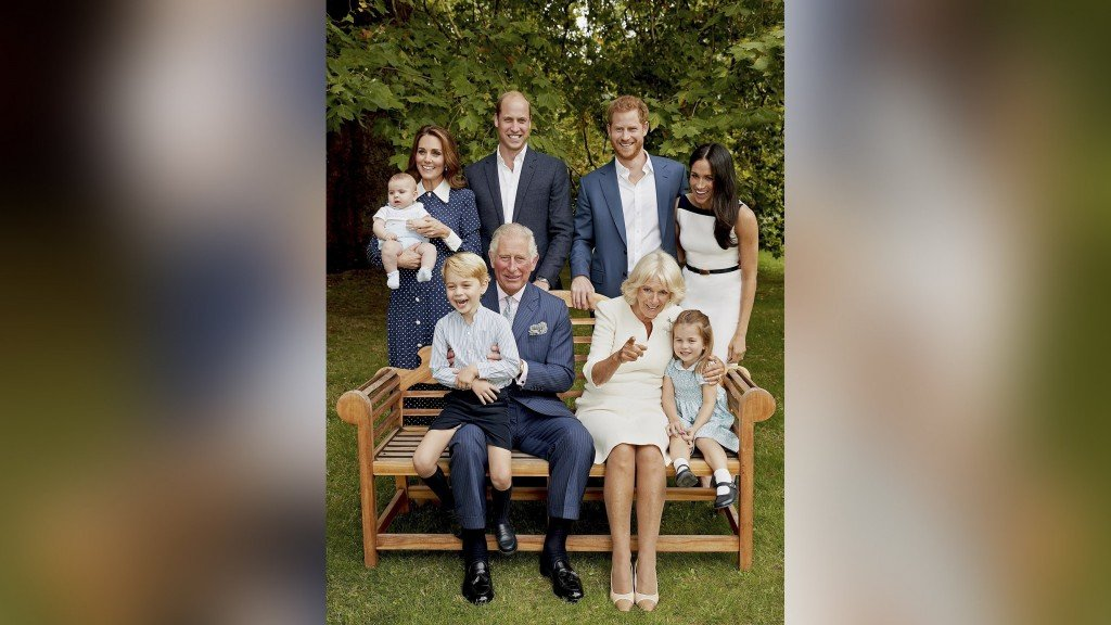 Prince Charles turns 70, releases official family photograph