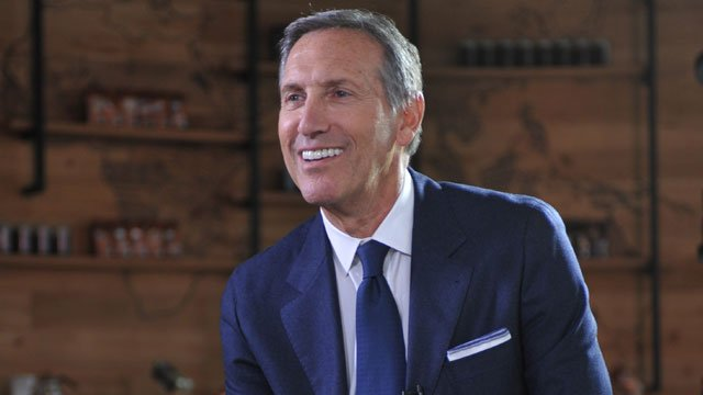 Howard Schultz says companies must do more than make money