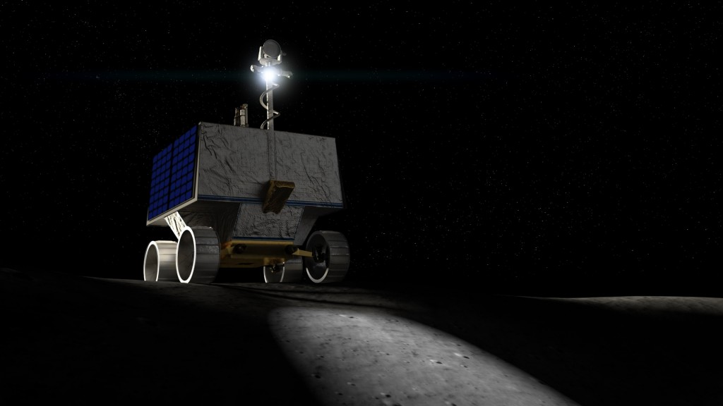 NASA's new lunar rover will hunt for water on the Moon
