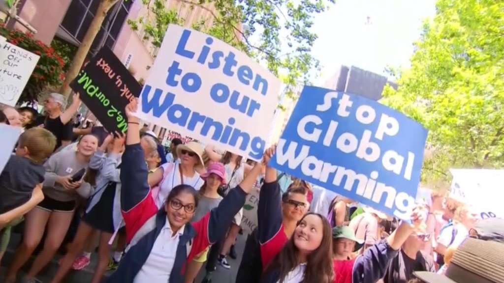 Kids worldwide to skip school Friday over climate change