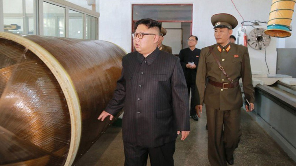 South Korea says North Korea has tested short-range projectiles