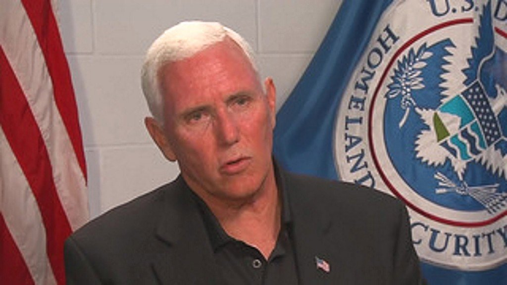 Pence visits migrant detention facilities, calls on Congress to act