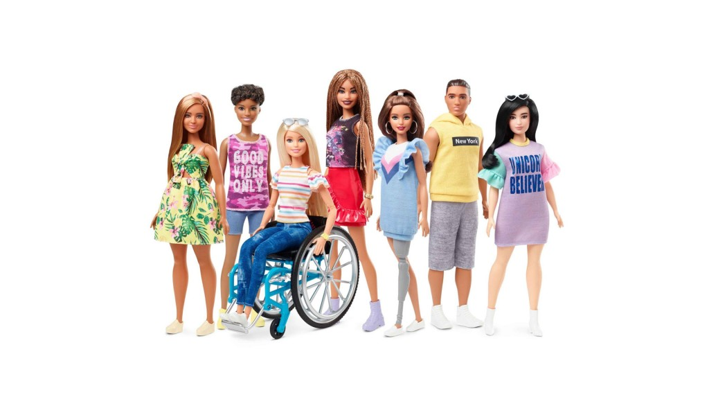Barbie introduces dolls with wheelchairs, prosthetic limbs