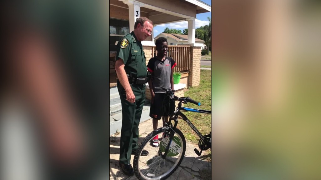 Teen battling leukemia gets a surprise after someone stole his bike