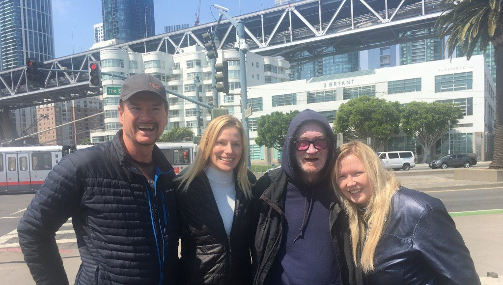 Nonprofit helps homeless people record messages for loved ones