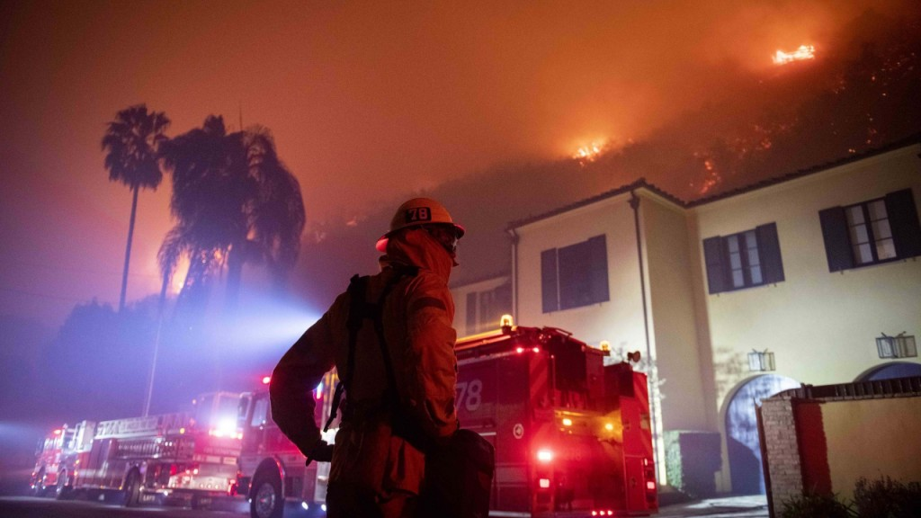 Artwork to remain in Getty Museum as wildfire nears