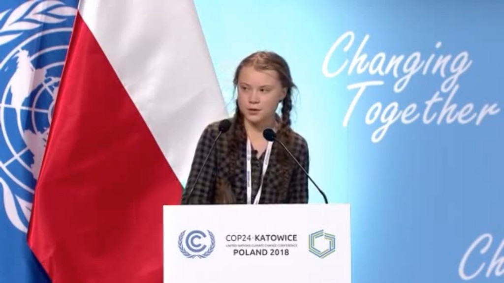 Teen activist tells Davos elite they're to blame for climate crisis
