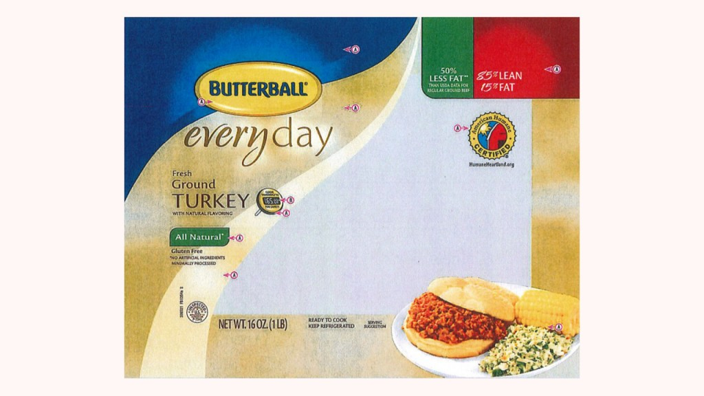 Butterball recalls 78,000 pounds of raw ground turkey