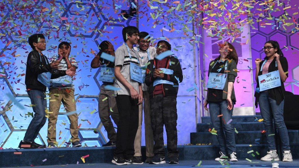 7 of the 8 Spelling Bee winners are Indian Americans