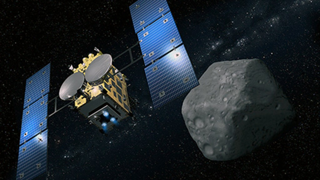 Water found in samples from surface of asteroid