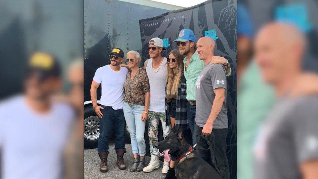 Country band Florida Georgia Line donates new K-9 to police