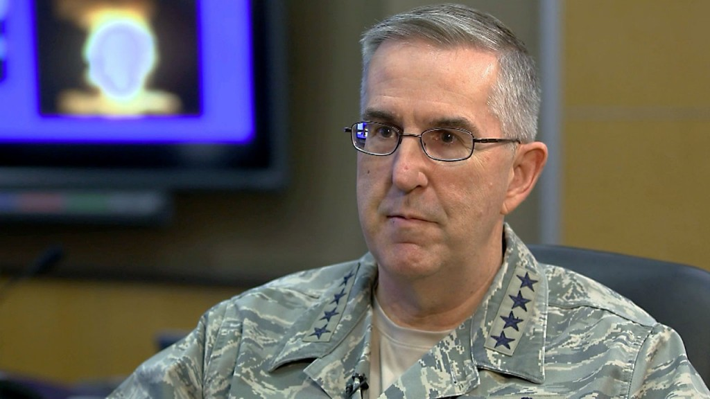 Senior general pick addresses sexual allegations at hearing