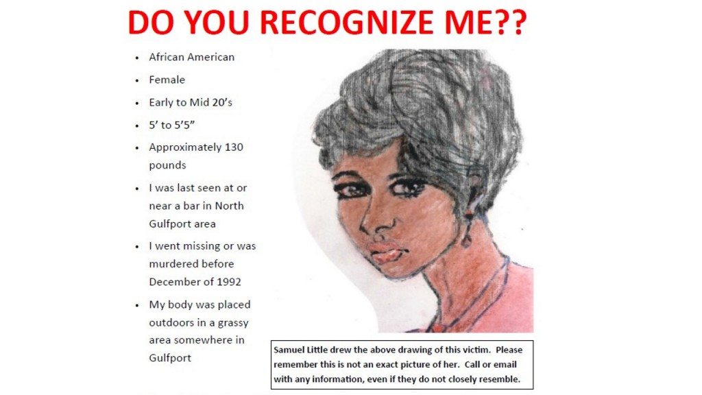 Serial killer Samuel Little says he killed woman in this sketch