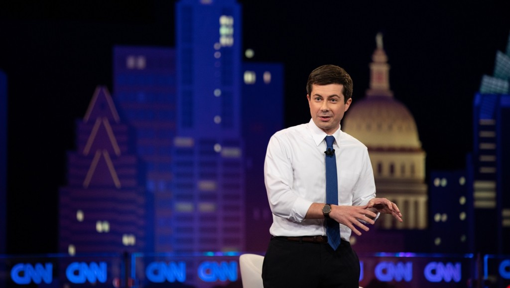 Buttigieg says America can lead on human rights, LGBT issues