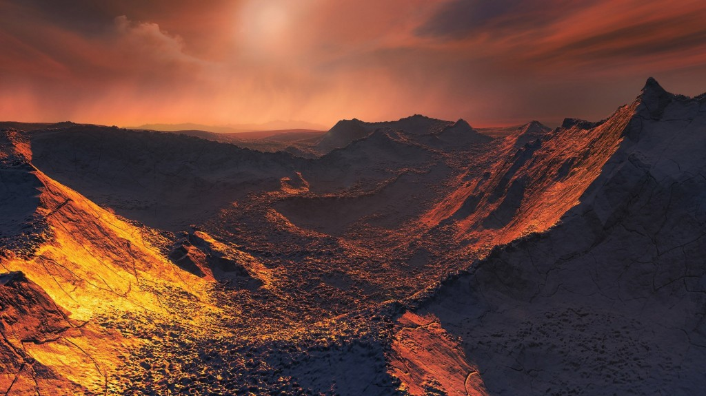 Frozen super-Earth discovered six light-years away