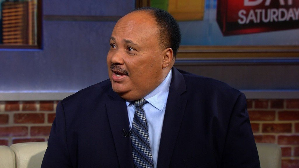 MLK's son criticizes Pence for invoking civil rights leader