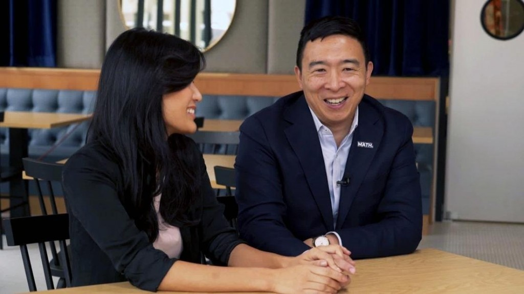 Andrew and Evelyn Yang share what's behind his unlikely run