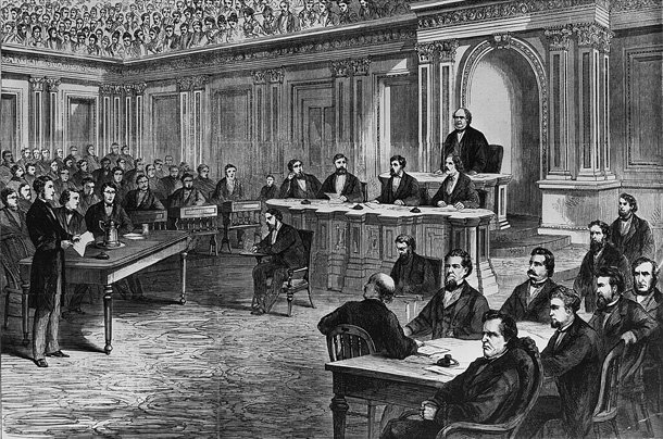 How post-Civil War GOP set an impeachment trap for Andrew Johnson