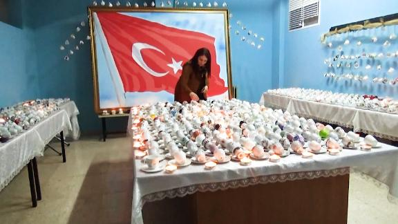 Woman has over 3,000 coffee cups