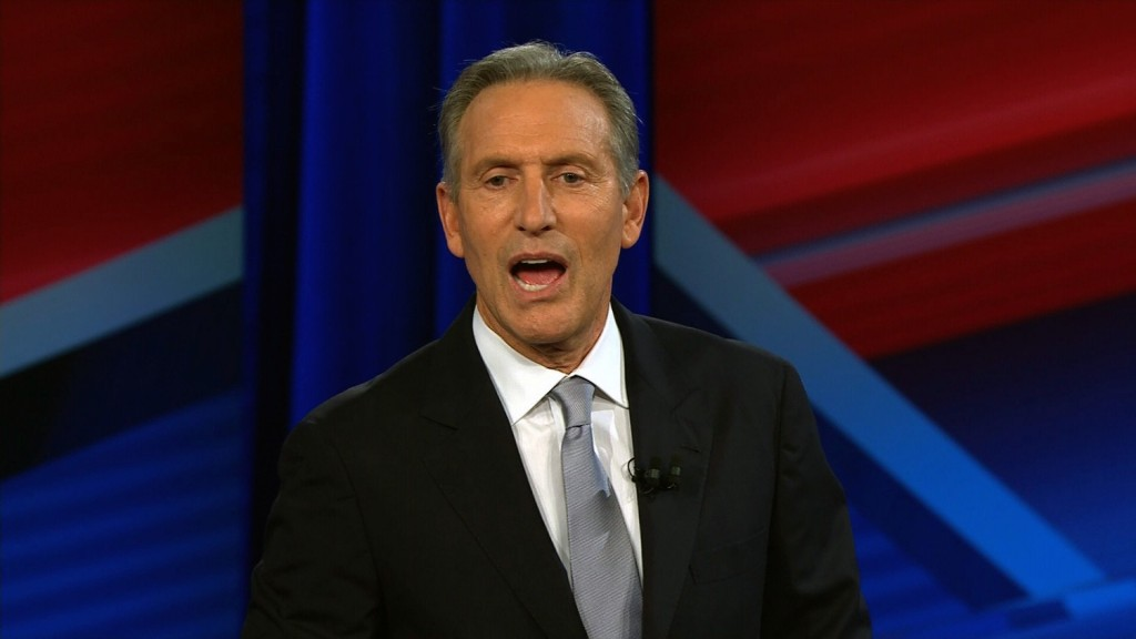 Schultz cuts staff and takes the summer off from exploring presidential bid