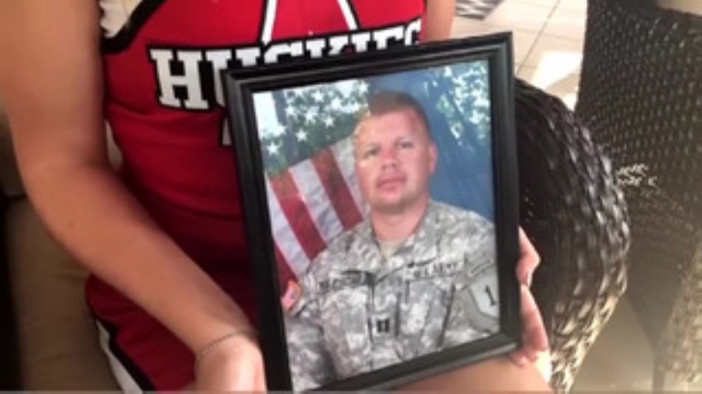 Teen's senior photos honor her father who was killed in Afghanistan