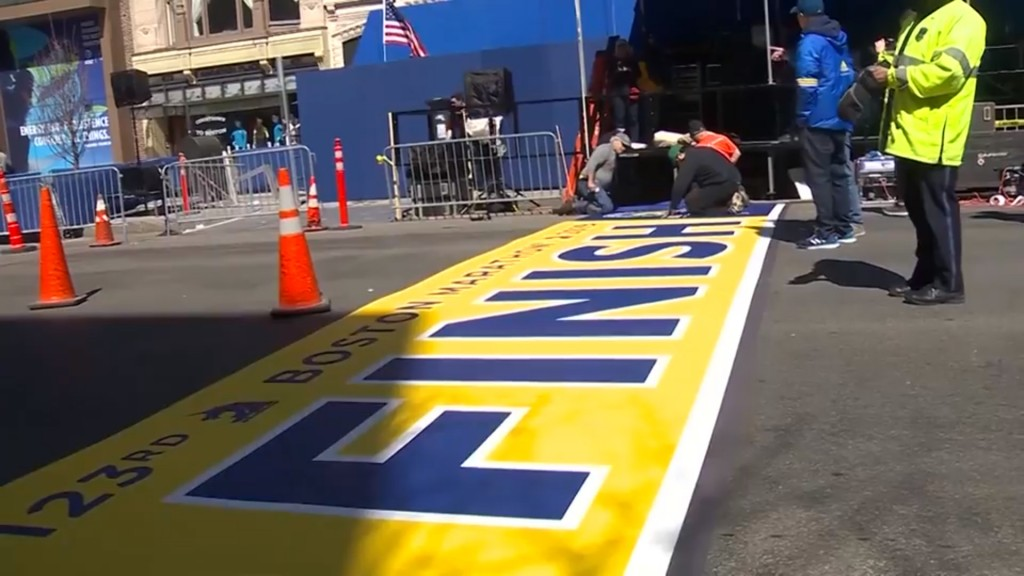 Boston Marathon organizers prepare for another rainy race