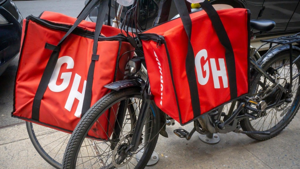 GrubHub getting crushed in food delivery wars