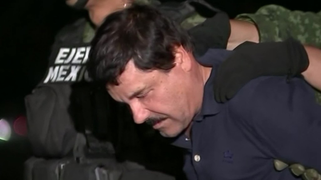 Drug lord's family wants to make El Chapo-branded clothing