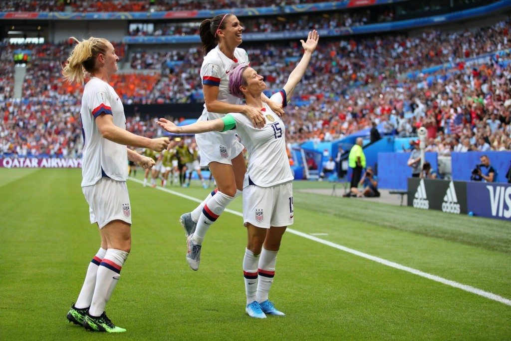 US wins Women's World Cup thanks to Rapinoe, Lavelle goals