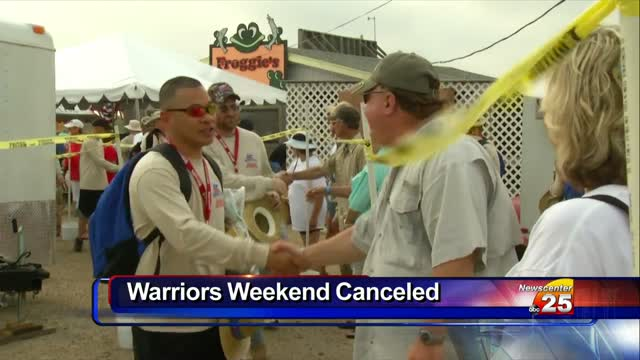 Warriors Weekend Canceled