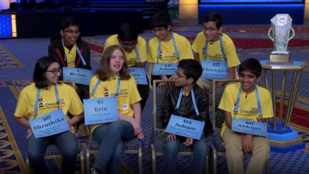 Spelling bee 'octo-champs' describe night the 'dictionary lost'