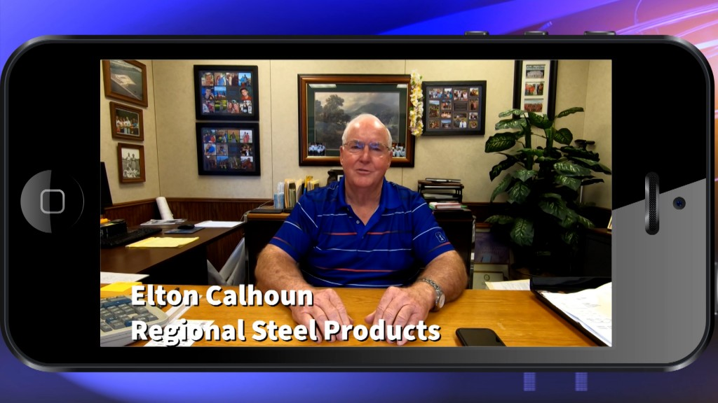 Messages From The Crossroads Elton Calhoun Regional Steel Products