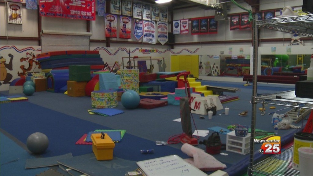 Covid 19 Cleanup Begins At Local Gymnastics Center
