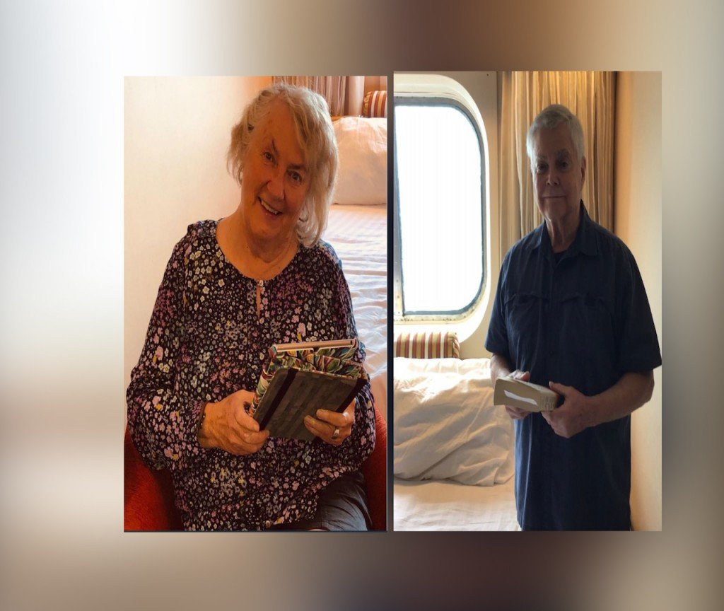 A local couple trapped on a cruise due to COVID-19