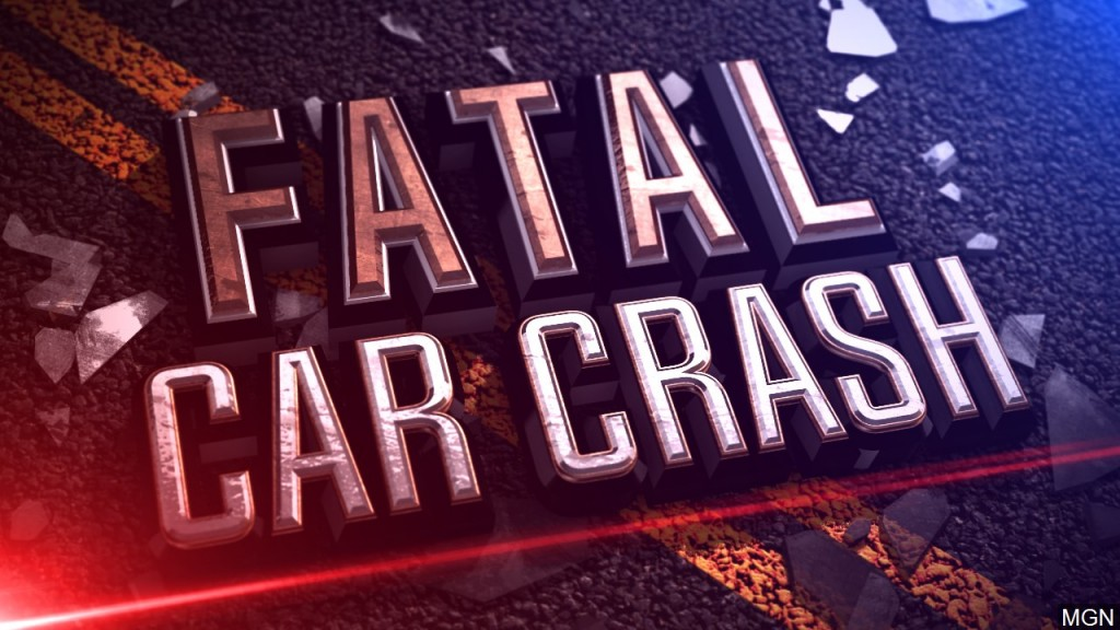 One man died in a single car accident early Sunday morning