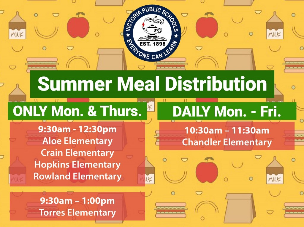 Summer food distribution
