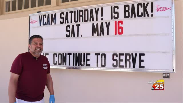 Vcam Saturdays Return To Downtown Food Pantry