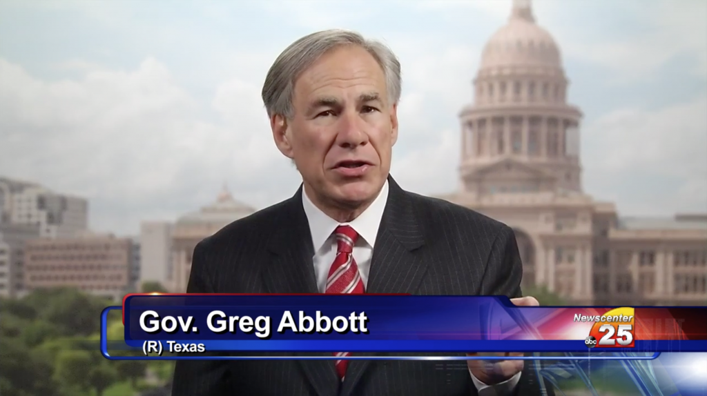 Governor Abbott in live interview on Channel 25